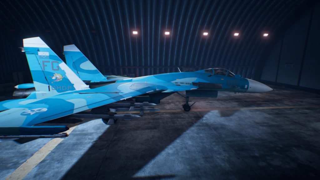 ACE COMBAT™ 7: SKIES UNKNOWN_Su-33 Flanker-D04 Mage Skin