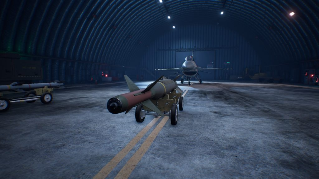 ACE COMBAT™ 7: SKIES UNKNOWN_F-16C Fighting Falcon GPB