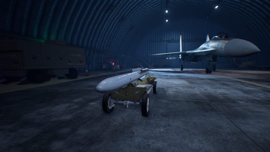 ACE COMBAT™ 7: SKIES UNKNOWN_Su-35SLAAM