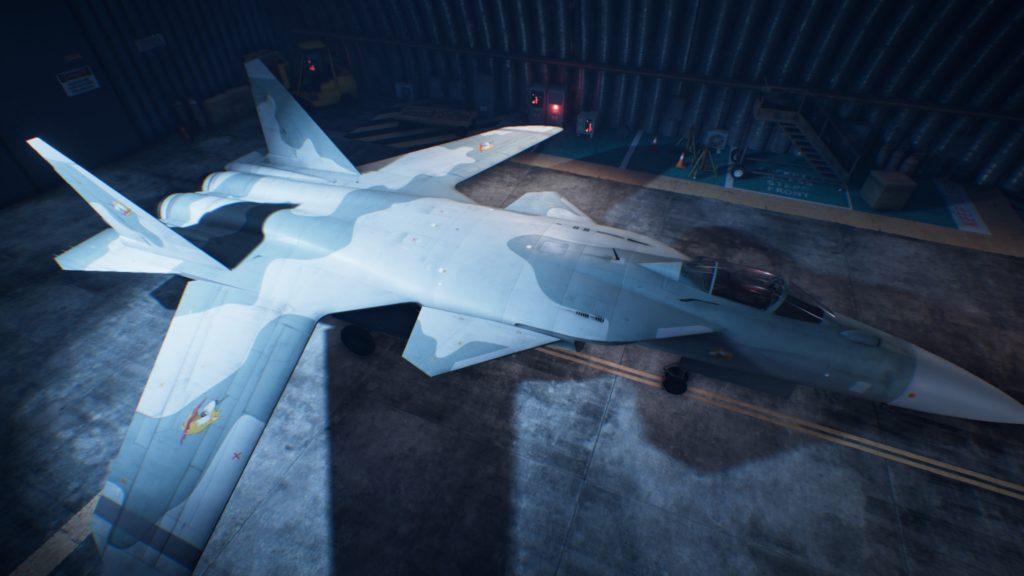 ACE COMBAT™ 7: SKIES UNKNOWN_Su-47 Berkut02 Erusea Skin